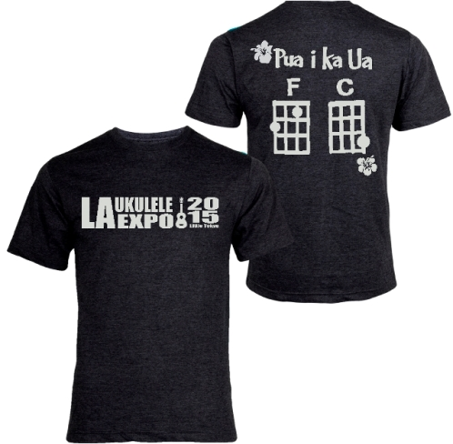 T-SHIRT Official 2015 L.A. UKULELE EXPO