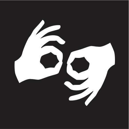 Auslan Interpreter Symbol