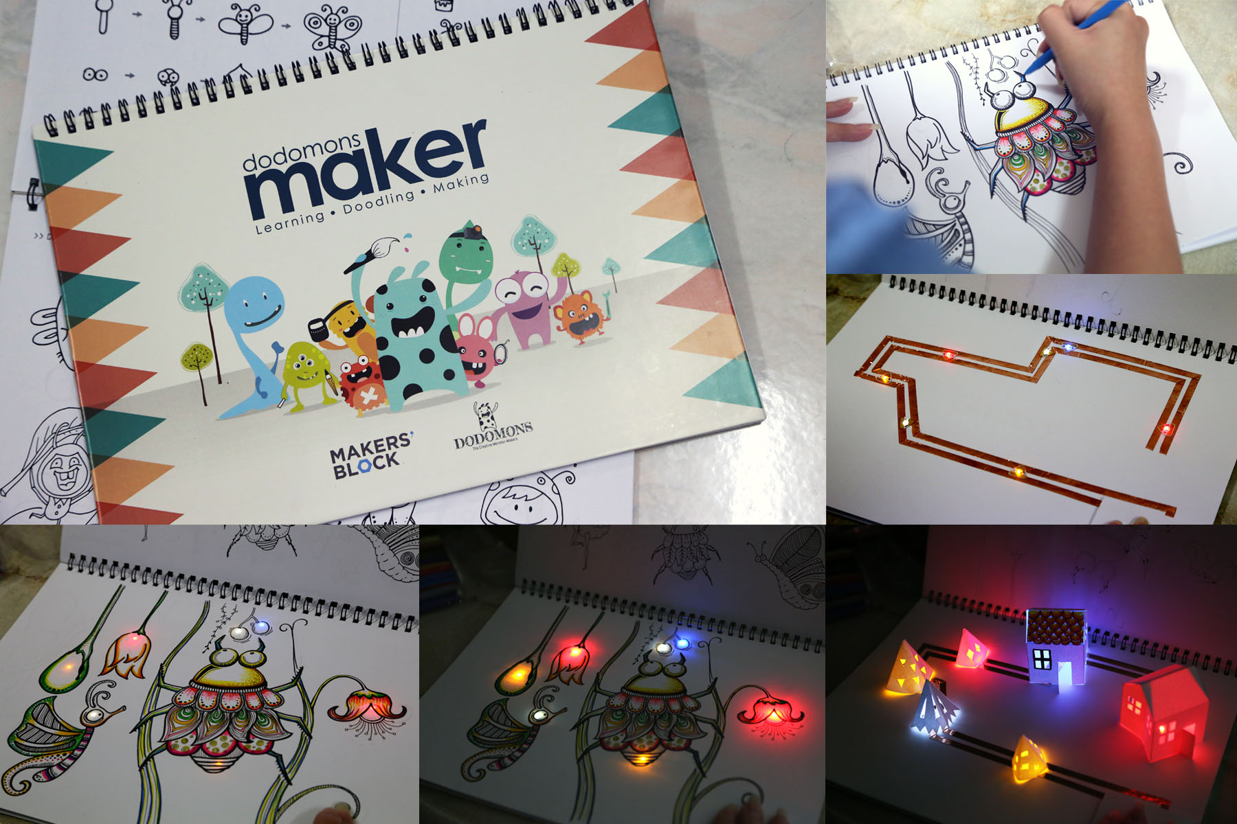 Doodle Craft With Electronics Hardwarezonecomsg Circuits Book Circuit Stickers Are Peel And Stick For Crafting Electronic You Can Use Them To Add Any Paper Fabric Plastic