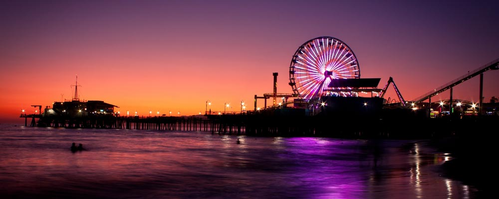 Top of Santa Monica Pier