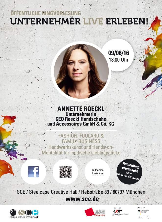 Unternehmer Live erleben mit Annette Roeckl