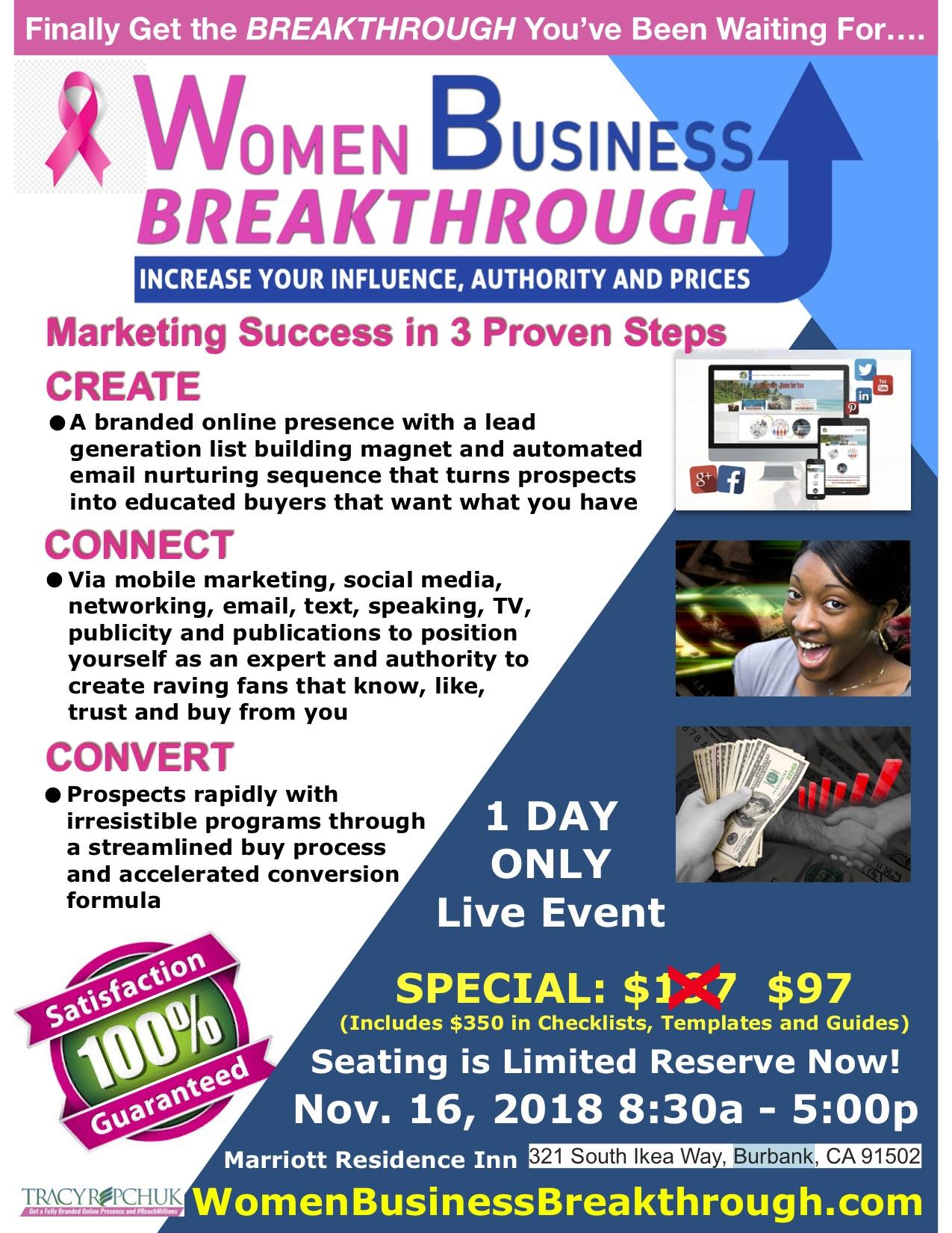 Women Business Breakthrough