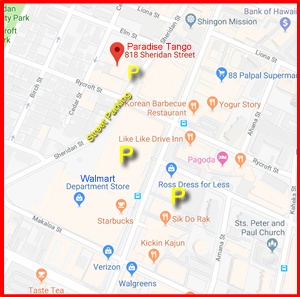 New Studio Parking Locations