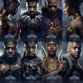 Black Panther Poster Combo