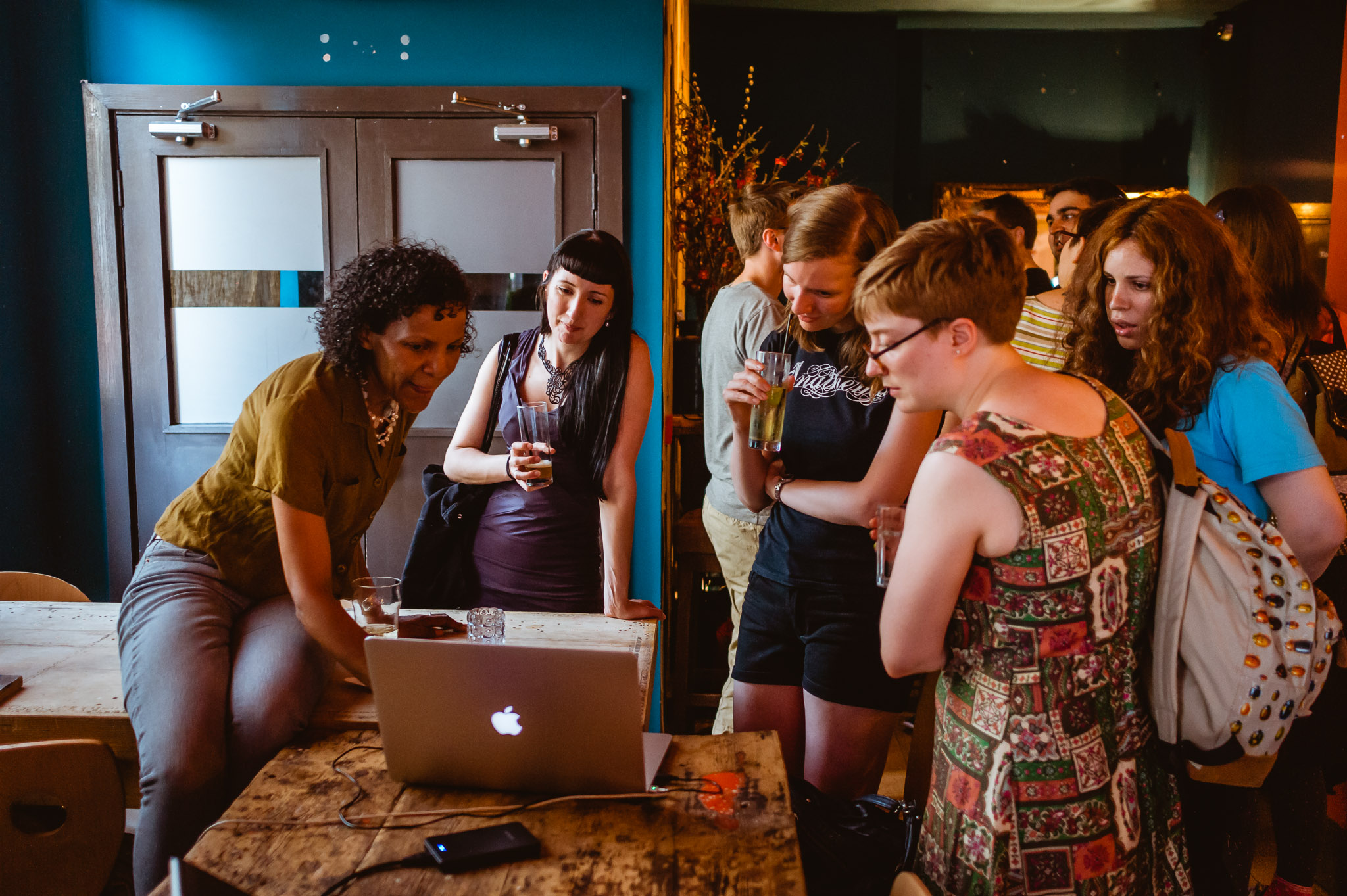 Developers at LadyCADE in 2014 (photo by Robin Baumgarten)