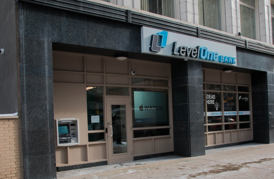 Level One Bank Front