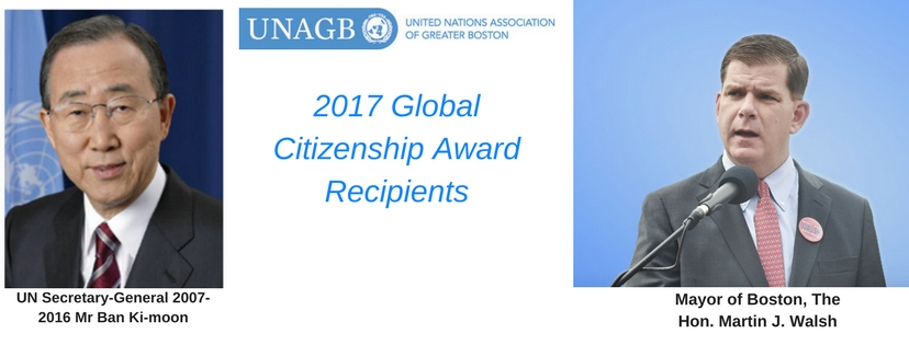 Global Citizens Award Recipients