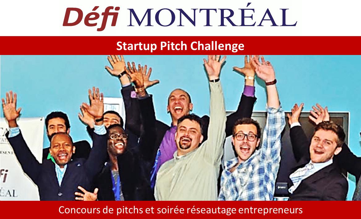 Startup Pitch Challenge Défi Montréal
