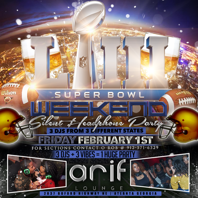Superbowl Silent Headphone Party Feelgoodfridays Live Life