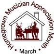 March Homegrown Musician Appreciation Month Logo