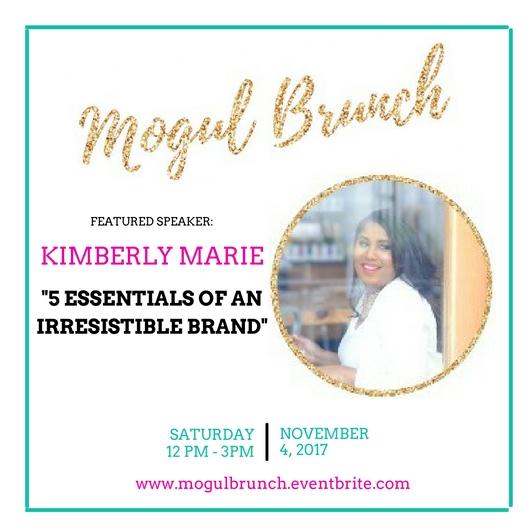 Mogul Brunch SPeaker - Kimberly Marie