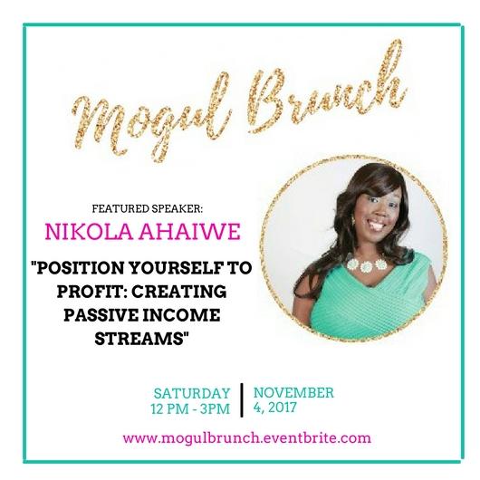 Mogul Brunch Speaker - Nikola Ahaiwe