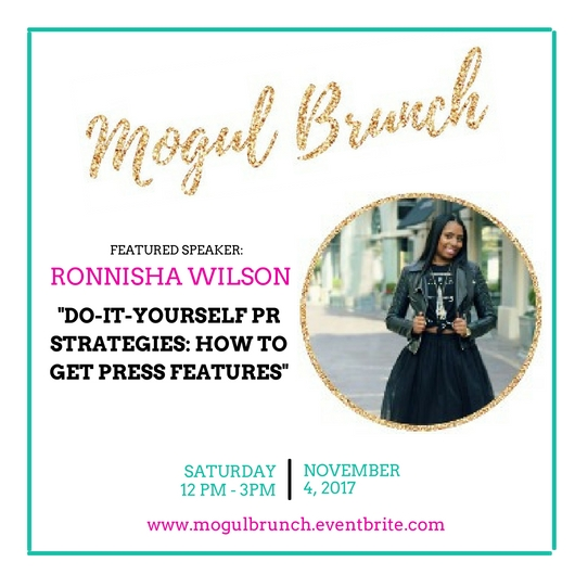 Mogul Brunch Speaker - Ronnisha Wilson