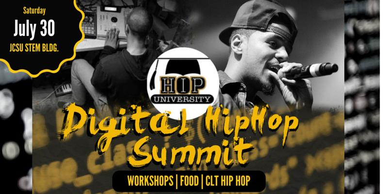 Digital-Hip-Hop-Summit-July30-CLT Flyer