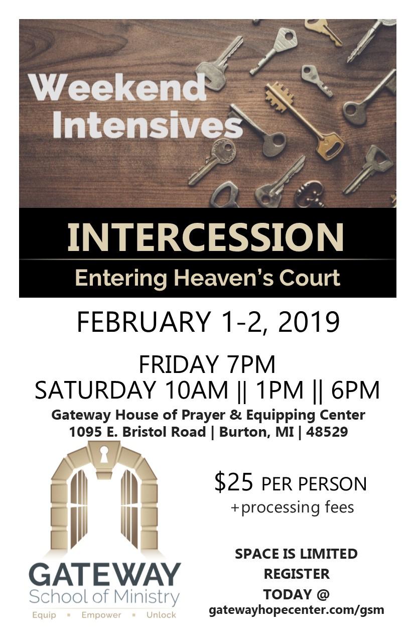 Intercession Intensive