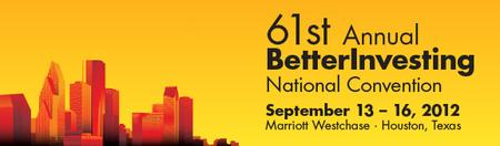 BetterInvesting National Convention 2012 FREE Saturday