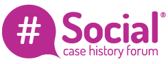 Social case history forum logo