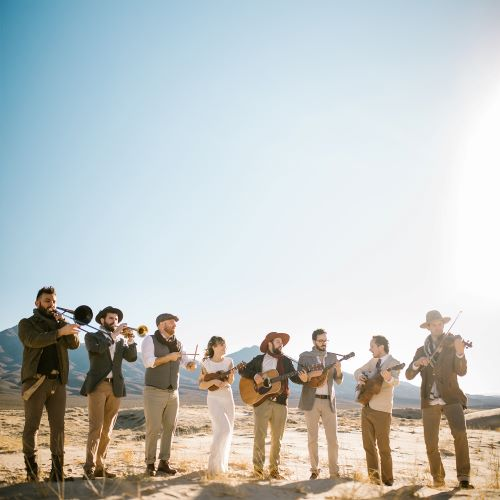 The Dustbowl Revival 8 piece band