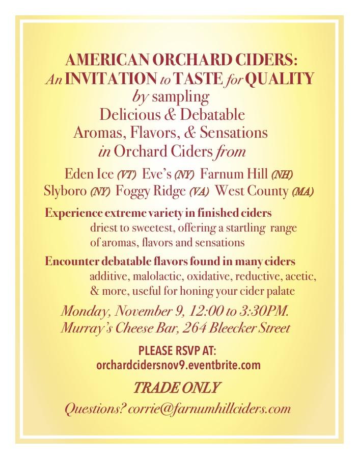 Murray's Invite Card