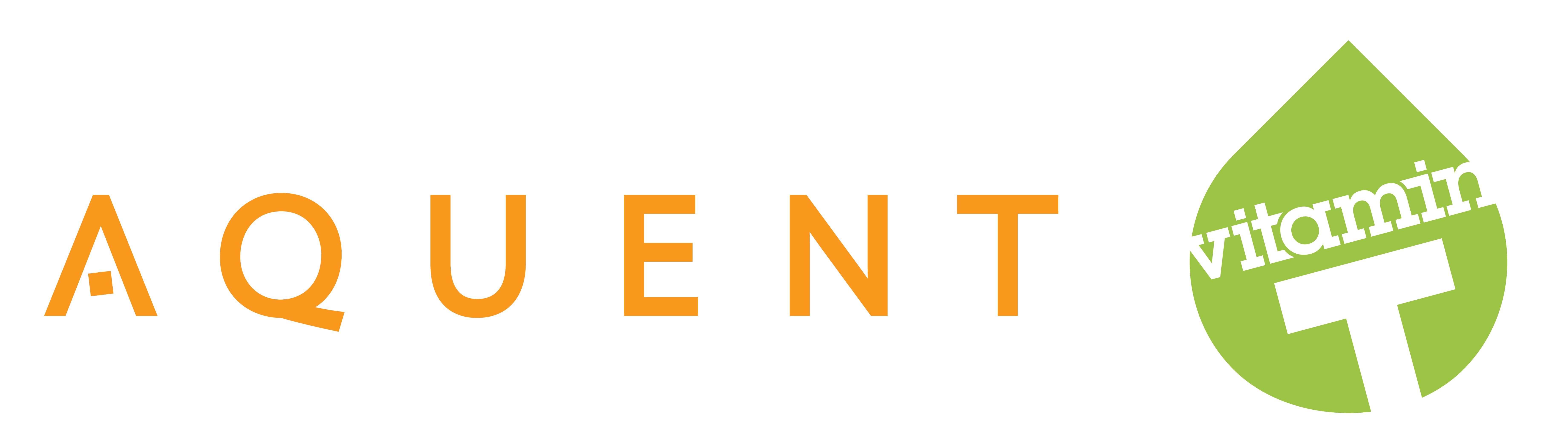 Aquent and Vitamin T Logo