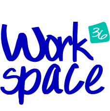 This is a logo for Workspace.