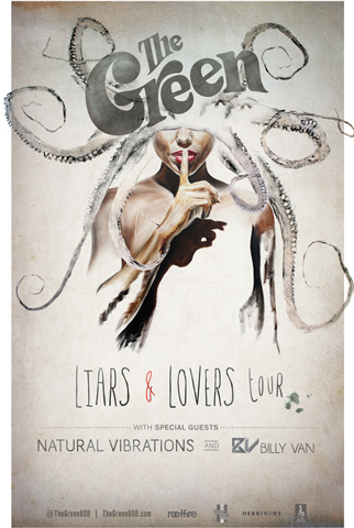 Liars & Lovers Tour poster