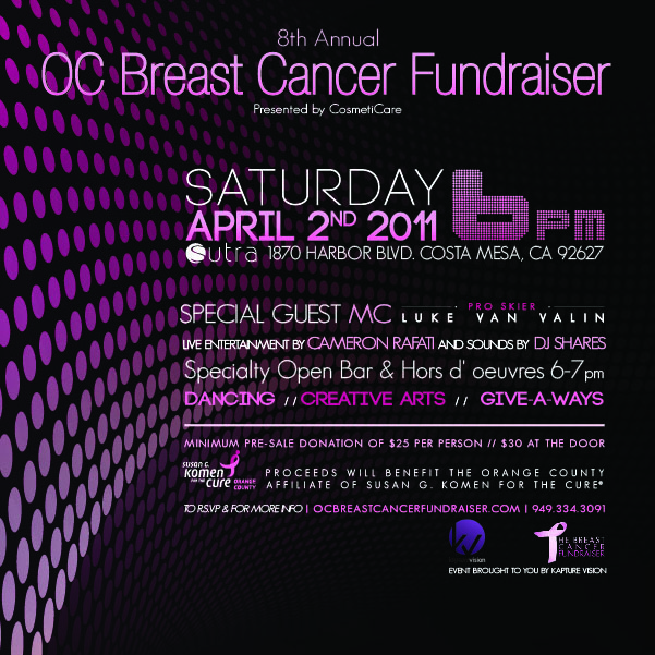 8th Annual OC Breast Cancer Fundraiser