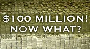 !00 Million-now what?