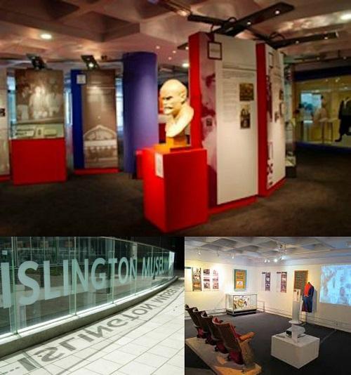 Islington Museum collage