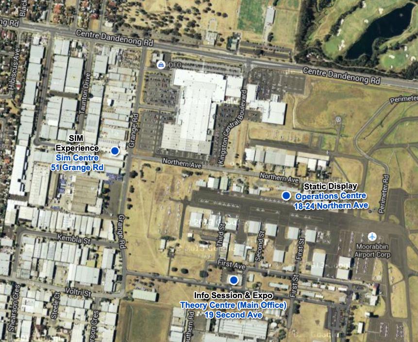Melbourne Academy Map