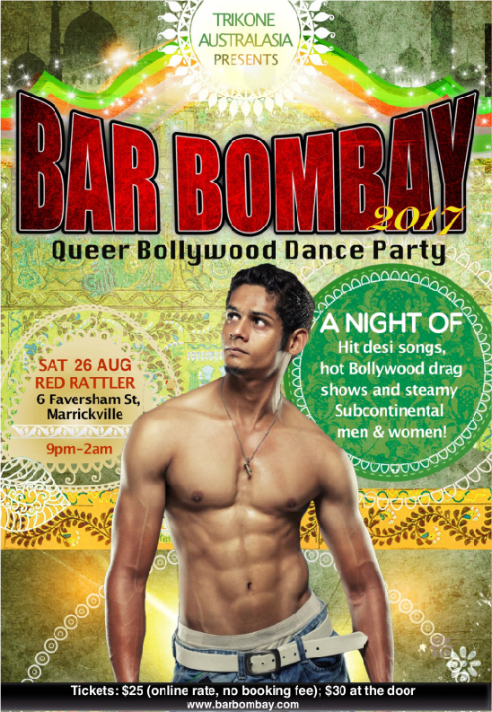 Bar Bombay Poster 2017 Male