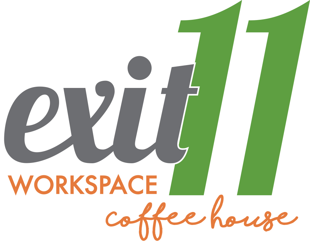 Exit 11 Workspace & Coffee House Logo