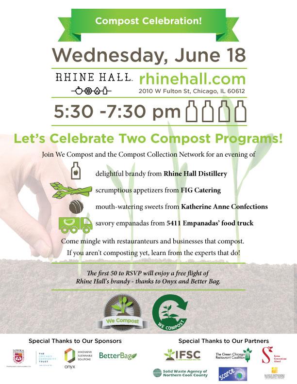 Compost Celebration Invitation