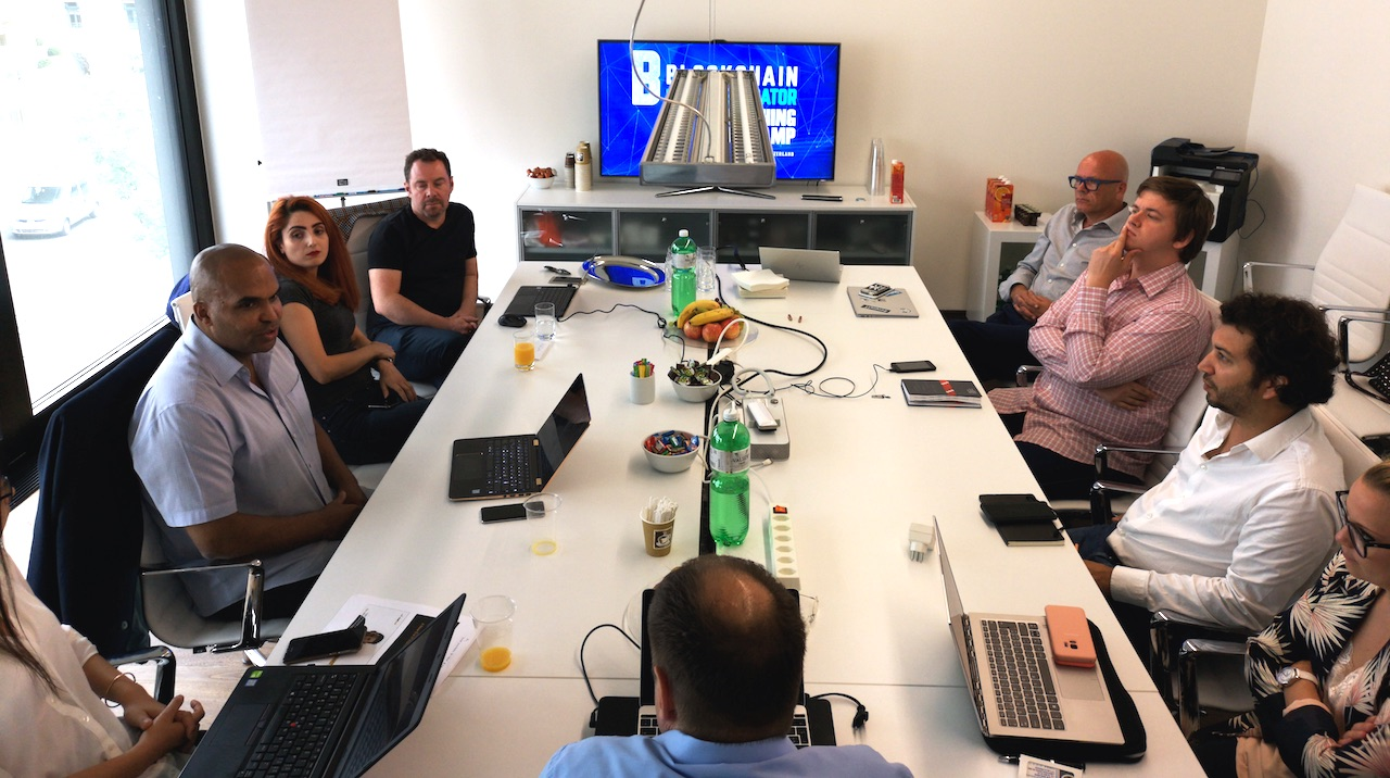 Swiss Innovation Partners Pitching Training