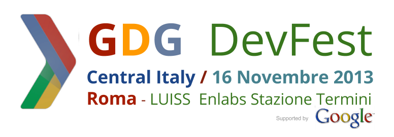 GDG DevFest Central Italy