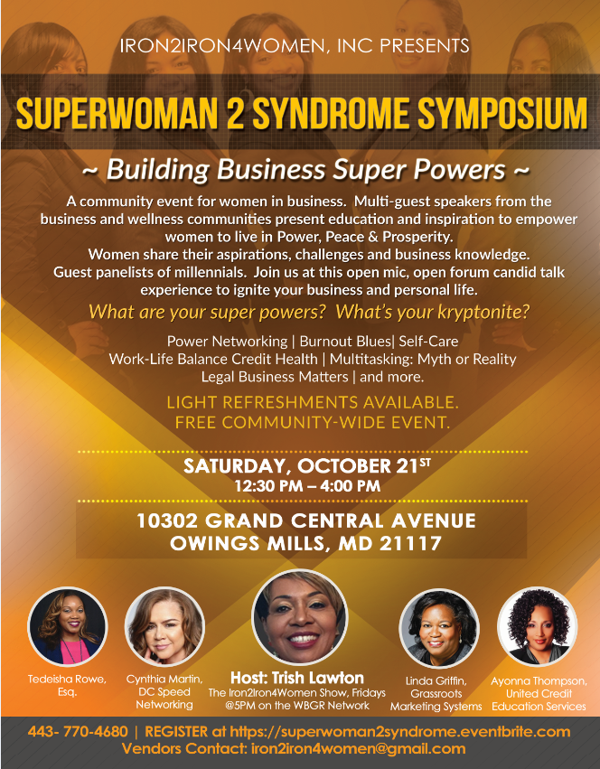Superwoman 2 Syndrome: Get Ignited!