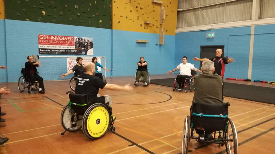 Wheelchair Self-Defence