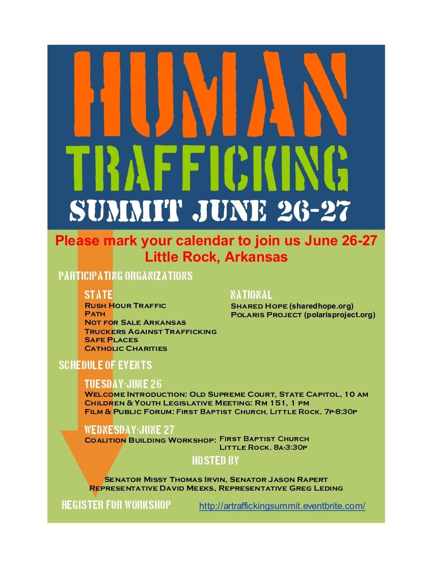 Human Trafficking Summit