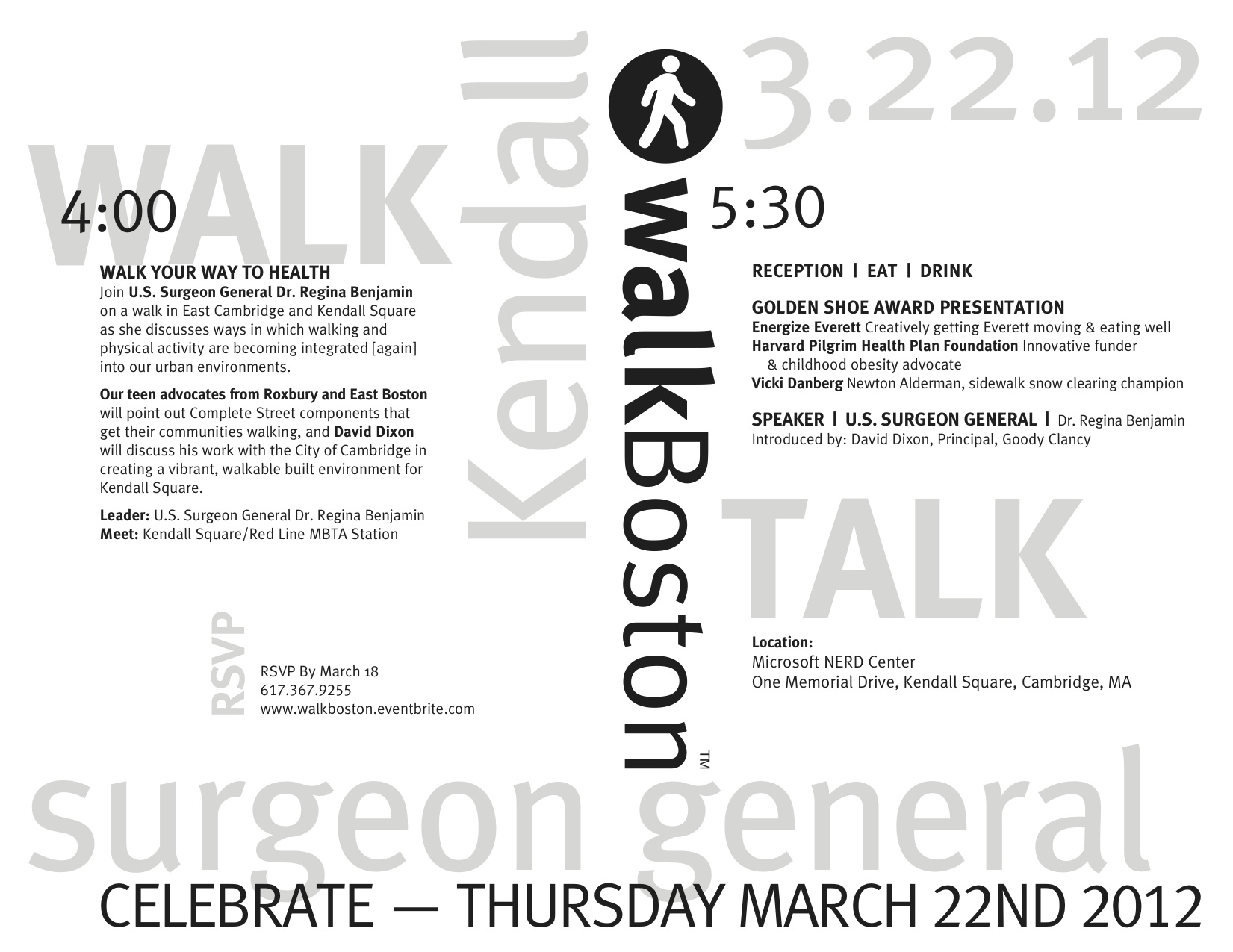 Annual Walk & Celebration Save the Date