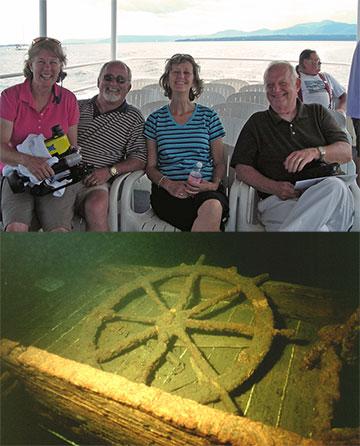 Shipwreck Tours on Lake Champlain