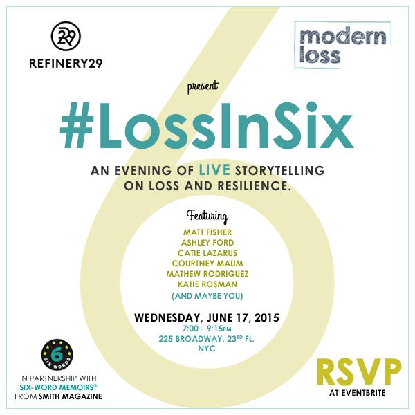 Modern Loss #LossInSix