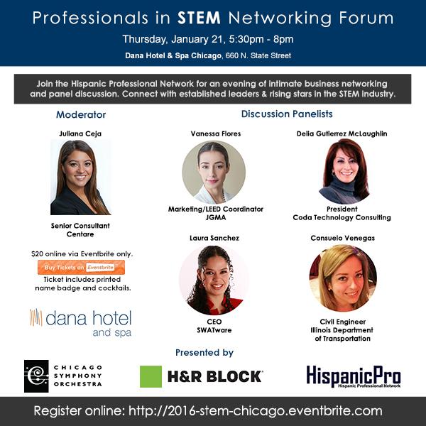 2016 STEM Networking River North Dana Hotel Chicago Social