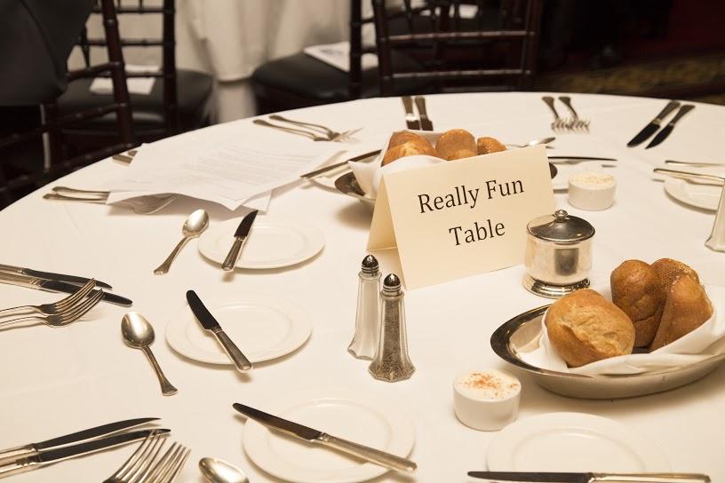 SPJ NorCal EIJ dinner - table