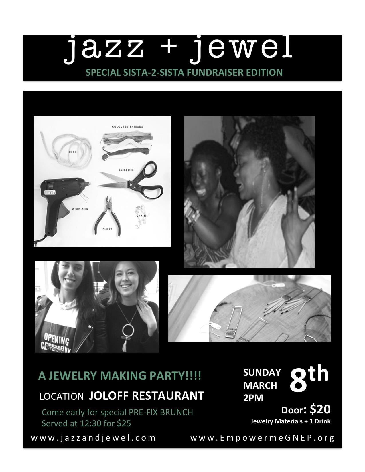 Jazz+Jewel Fundraiser