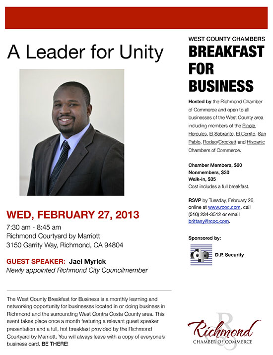 Breakfast for Business with Jael Myrick