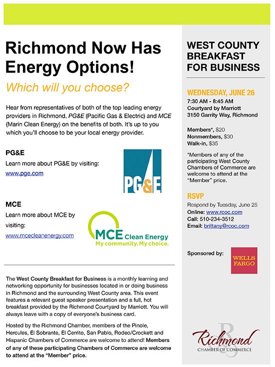 Richmond Now Has Energy Options