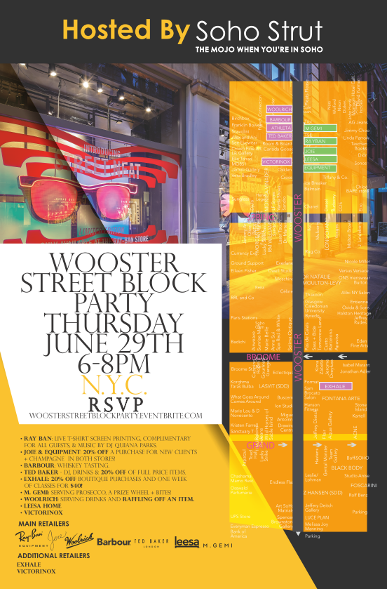 wooster street block party