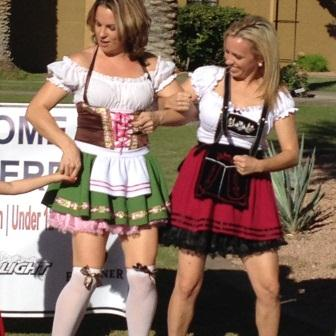German Ladies Dancing