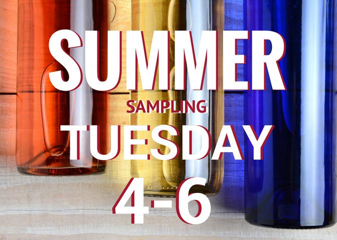 Tuesday Summer Craft Beer, Organic Wine and Kombucha Sampling