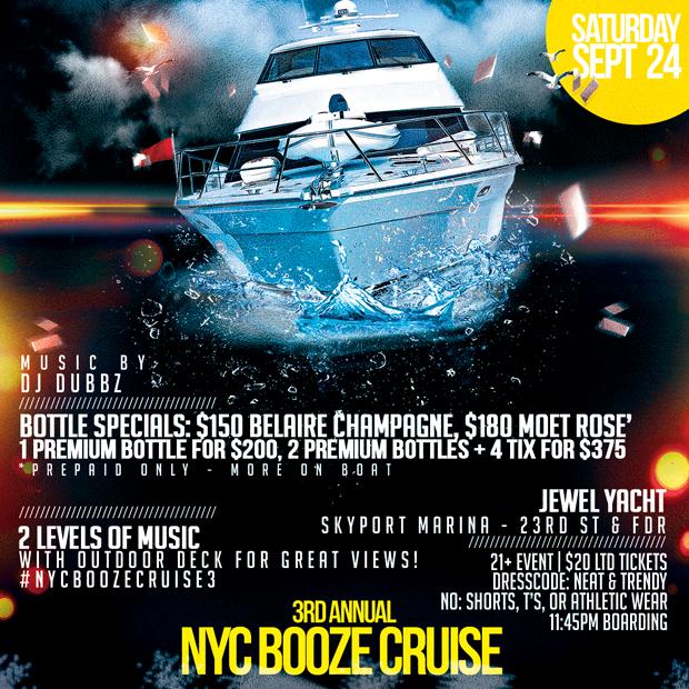 NYC Booze Cruise